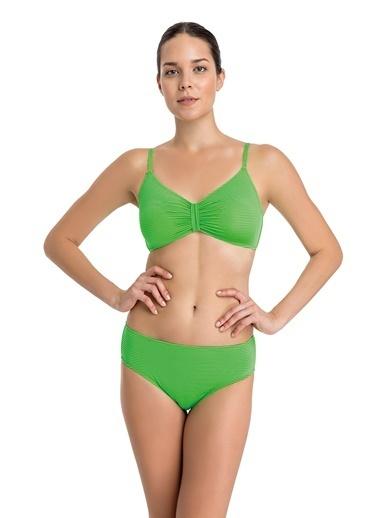 Dagi Luplu Bikini Üst Yeşil